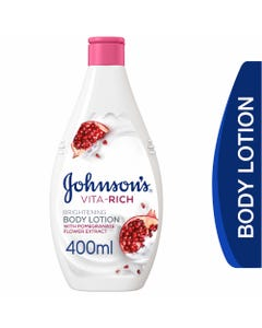Johnson Vita Rich Lotion Brght 400 ml