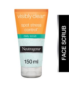 Neutrogena Visibly Clear Spot Stress Control Daily Scrub 150 ml