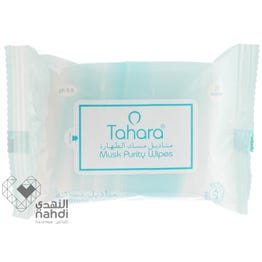 Tahara Intimate Wipes Musk Natural Fragrance 20 pcs