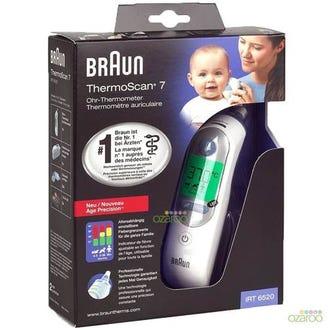 سعر جهاز براون ثيرموسكان 7 لقياس الحرارة للاذن RT6520