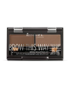 Rimmel Brow This Way Palette Medium Brown