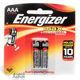 إنرجايزر بطاريات ماكس 2 قطعة AAA