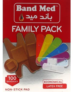 Bandmed Plaster Family Pack Assortment (75001)
