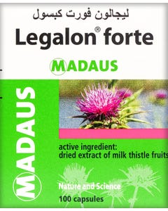 Legalon Forte 140mg 100 Capsules