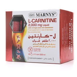 Marny's L-Carnitin 2000 mg Liquid 20*11 ml