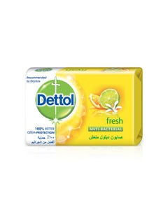 Dettol Soap Bar Fresh 3+ 1 Free 165/175 gm