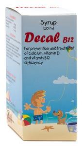 ديكال ب12 شراب 120 مل
