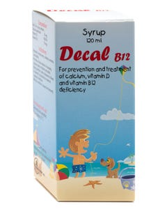Decal B12 120 ml Syrup