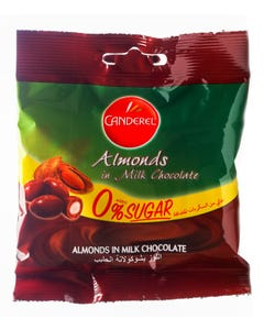 Canderel Almonds And Milk Chocolate 55gm