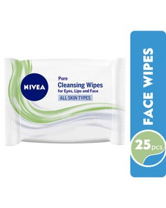 Nivea Fragrance Free Wipes 25 pcs