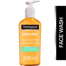 Neutrogena Oil Free Acne Wash 200 ml