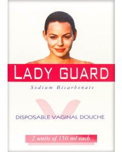 Lady Guard Disposable Vaginal Douche 150 ml 2 pcs