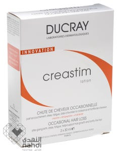 Ducray Hair Lotion Creastim Occasional Hair Loss Lotion 2x30 ml