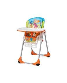 Chicco New Polly 2 in 1 High Chair Wood Friends