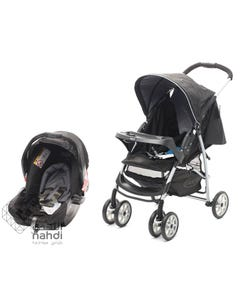 Graco Stroller Mirage + Travel System - Black Rock