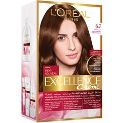 Excellence Hair Color Chocolate Brown 6.7