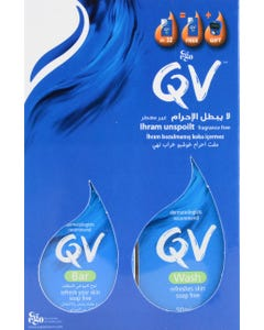 Qv Soap Refresh For All Skin Types + Gift 100 gm