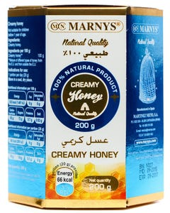 Marnys Creamy Honey 200 gm