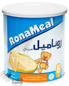 Ronameal Baby Cereal Wheat 400 gm
