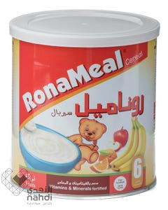 Ronameal Baby Cereal Fruits 400 gm