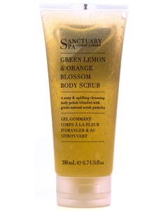 Sanctuary Spa Green Lemon&Orange Blossom Body Scrub 200ml