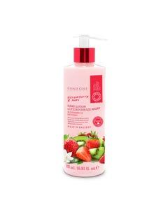 Fruit Works Strawberry & Kiwi Hand Lotion 500ml
