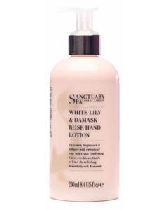 Sanctuary Spa White Lily&Rose Damask Hand Lotion 250ml