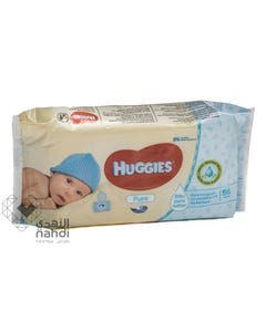 Huggies Baby Wipes Pure 56 pcs