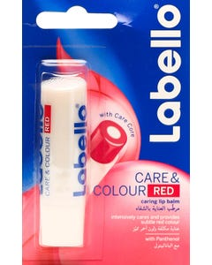 Labello Care And Colour Red