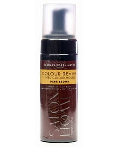Charles Worthington Colour Enhancer Colour Revive Mousse - Dark Brown 150 ml