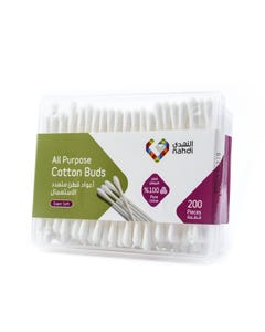 Nahdi Cotton Buds In Square Case 200 pcs