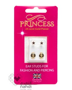 Princess 24 Carat Gold Plated Star Stones (Feb / Amethyst)