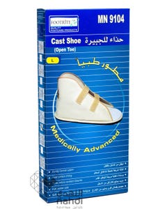 FootRite Cast Shoe Open Toe Large MN9104