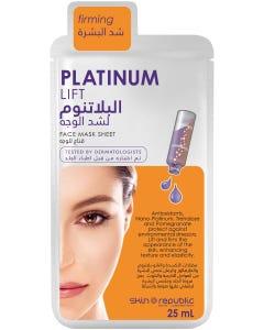 Skin Republic Face Mask Sheet Platinum Lift 25 ml