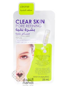 Skin Republic Face Mask Sheet Clear Skin Pore Refining 25 ml