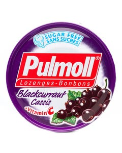 Pulmoll Sugar Free Lozenges Blackcurraut Cassis + Vit C 45 gm
