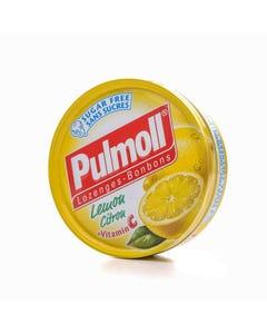 Pulmoll Sugar Free Lozenges Lemon Citru + Vitamin C 45 gm