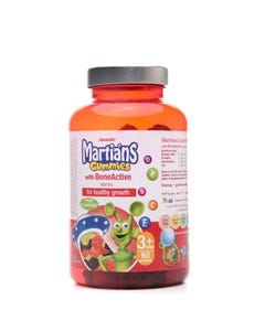 Martians Gummies With Bone Active 60 Pcs