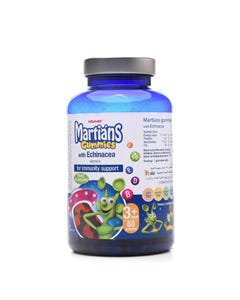 Martians Gummies With Echinacea 60 Pcs