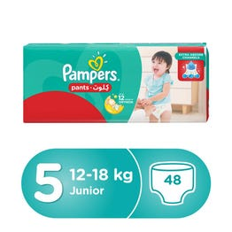 Pampers Pants Size (5) Jumbo Pack 48 Pants