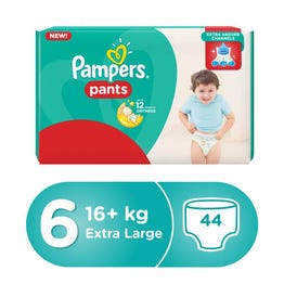 Pampers Pants Size (6) Jumbo Pack 44 Pants