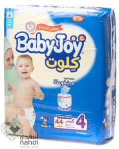 Baby Joy Pants Size (4) Jumbo Pack 44 Pants