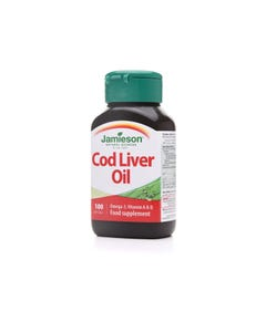 Jamieson Cod Liver Oil Softgel 100 Cap