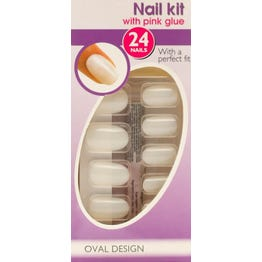 Depend Nail Kit Small Oval Design