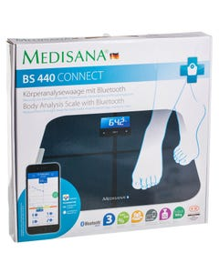 Medisana Connect Body Analysis Scale With Bluetooth Smart Bs 440