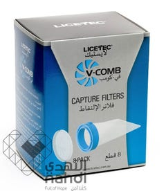 Licetec V-Comb Anti Lice And Nits Filters Device