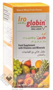 فيتان ايرو جلوبين مع فيتامين ب12 شراب 200 مل