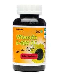 Vitanes Nature Vitamin E 400 IU Softgel 120 Cap