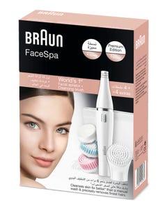 Braun Silk Epil Facial Epilator + 4 Cleansing Brushs # 851