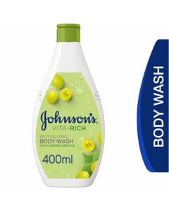Johnson Body Wash Vita-Rich With Grapeseed Oil 400 ml